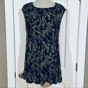 FREE PEOPLE 'Fake Love' Leopard Print Mini Dress